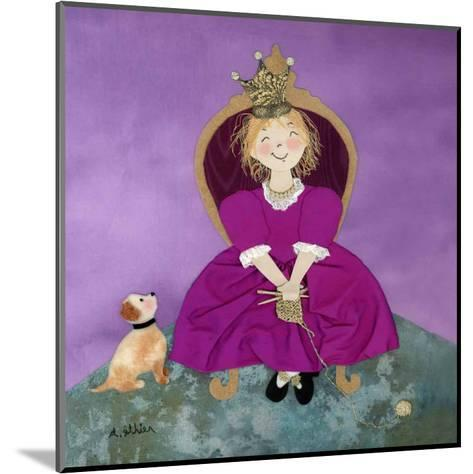 The Queen-Diane Ethier-Mounted Art Print