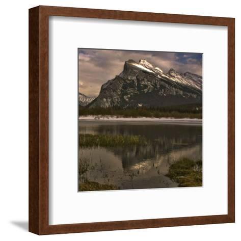 Vermillion Lake III-Rick Schimidt-Framed Art Print
