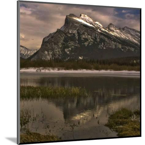 Vermillion Lake III-Rick Schimidt-Mounted Art Print