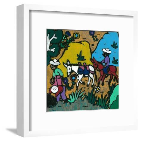 Promenade En Ane--Framed Art Print