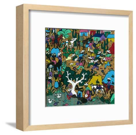 Fight I--Framed Art Print