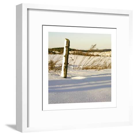 Country Snow I-Jean-Fran?ois Dupuis-Framed Art Print