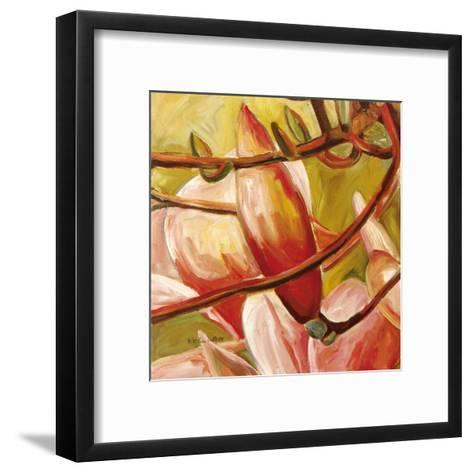 Connection II-Mary Mclorn Valle-Framed Art Print