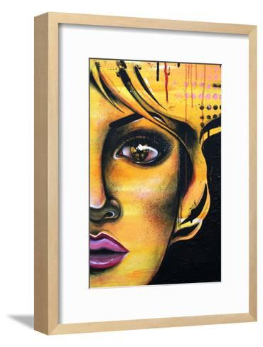 L'Ame Jaune-Vicky Filiault-Framed Art Print