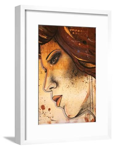 Lueur Orange-Vicky Filiault-Framed Art Print