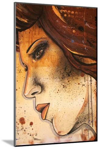 Lueur Orange-Vicky Filiault-Mounted Art Print