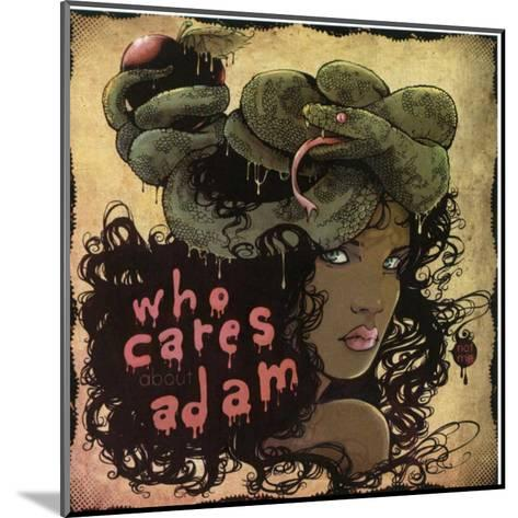 Who Cares About Adam-Ludovic Jacqz-Mounted Art Print