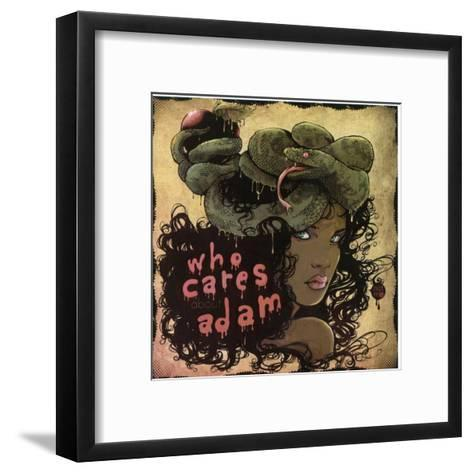 Who Cares About Adam-Ludovic Jacqz-Framed Art Print