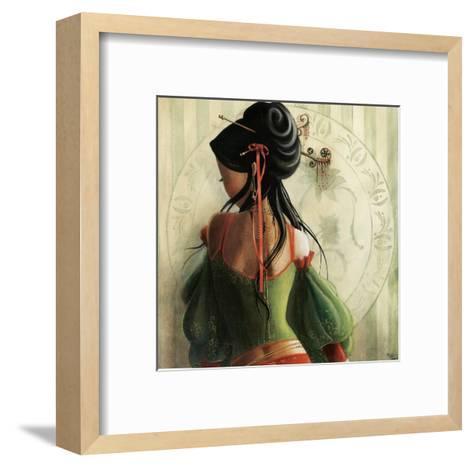Lola-Misstigri-Framed Art Print