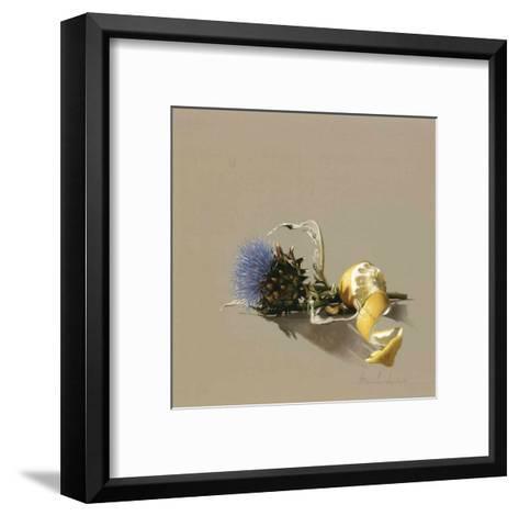Charbon et Citron-Bedarrides-Framed Art Print