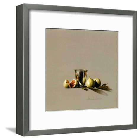 Timbale et Figues-Bedarrides-Framed Art Print