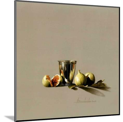 Timbale et Figues-Bedarrides-Mounted Art Print