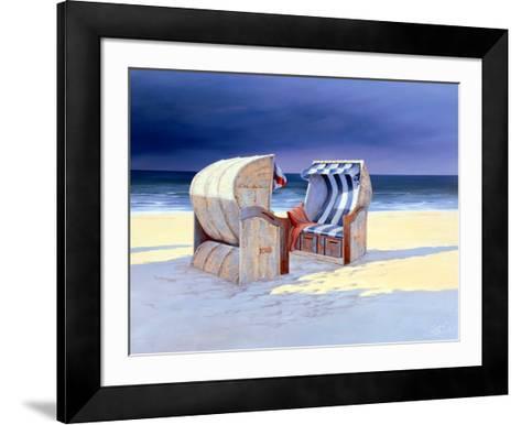 Beach Chairs I-Sigurd Schneider-Framed Art Print