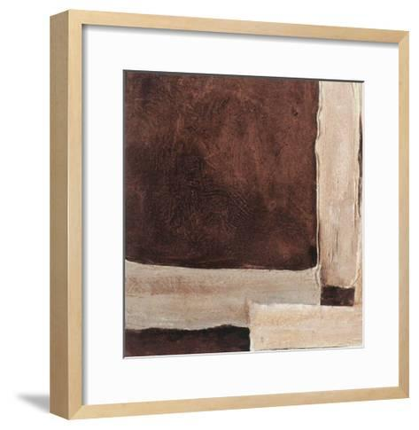 Chocolate and Cream IV-Laura Stefanelli-Framed Art Print