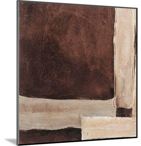 Chocolate and Cream IV-Laura Stefanelli-Mounted Art Print