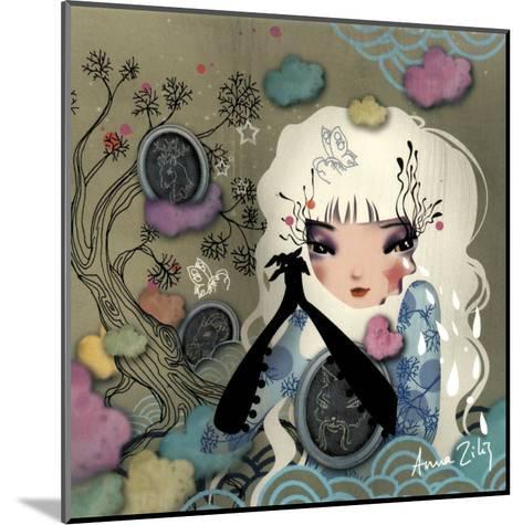Mon Arbre Genealogique-Anna Ziliz-Mounted Art Print