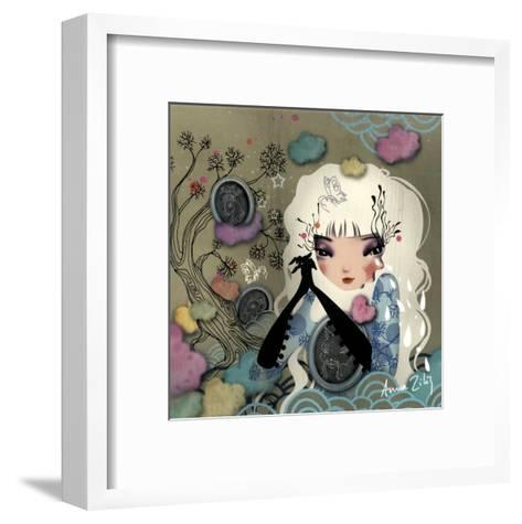 Mon Arbre Genealogique-Anna Ziliz-Framed Art Print