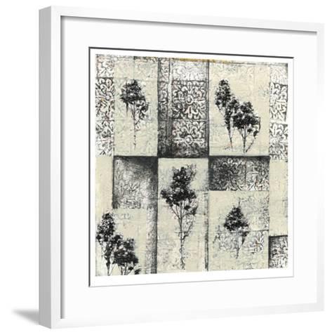 Toile Redone IV-Jennifer Goldberger-Framed Art Print