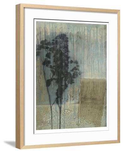 Weathered Floral I-Jennifer Goldberger-Framed Art Print