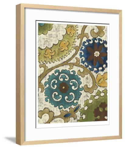 Suzani Song VI-Chariklia Zarris-Framed Art Print