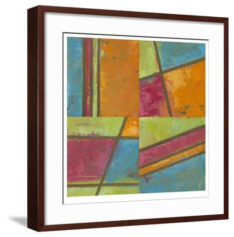 Paradise Abstract I-Megan Meagher-Framed Art Print