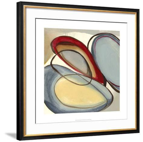 Circular Reasoning III-Jennifer Goldberger-Framed Art Print