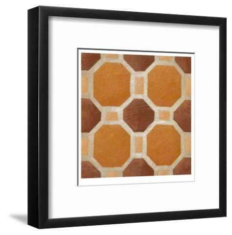 Brilliant Symmetry VI-Chariklia Zarris-Framed Art Print