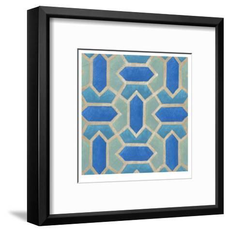 Brilliant Symmetry VIII-Chariklia Zarris-Framed Art Print