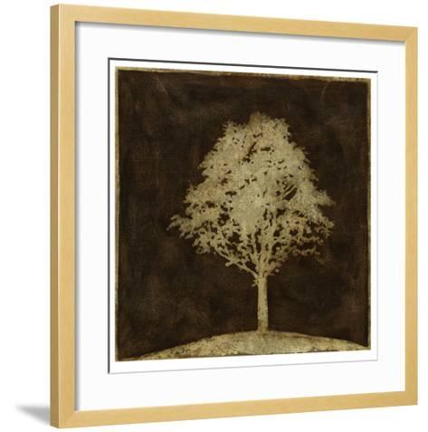 Gilded Tree II-Megan Meagher-Framed Art Print