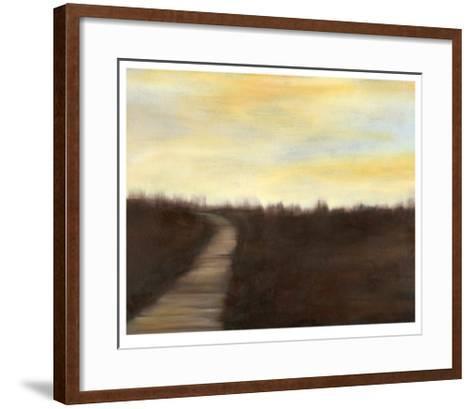 Sunrise Stroll II-Jennifer Goldberger-Framed Art Print