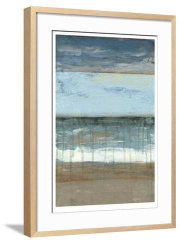Coastal Abstract II-Jennifer Goldberger-Framed Art Print