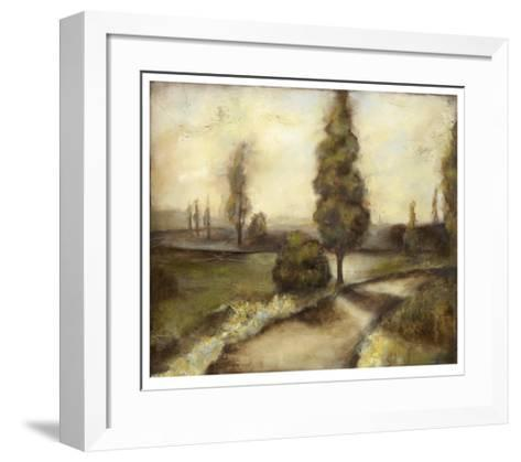Misty Morning II-Jennifer Goldberger-Framed Art Print