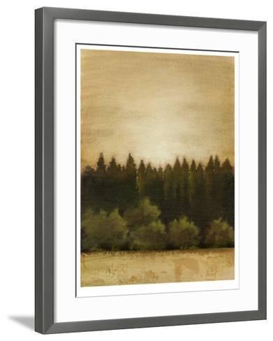 Treeline Sunset I-Ethan Harper-Framed Art Print