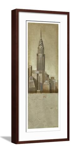 Shimmering City II-Ethan Harper-Framed Art Print
