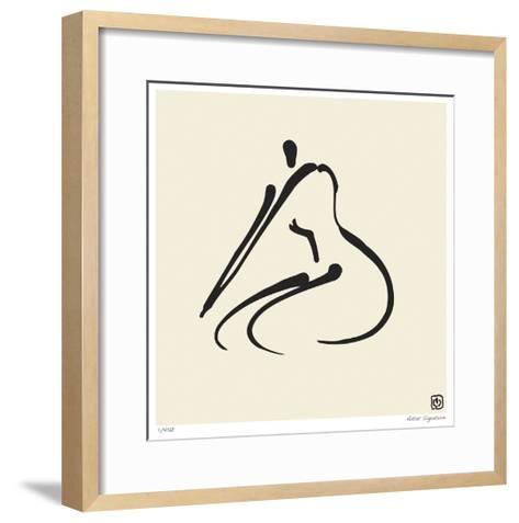 Abstract Female Nude VI-Ty Wilson-Framed Art Print