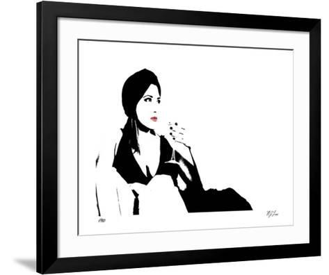 Cat Lounge I-Mj Lew-Framed Art Print