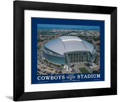 First Inaugural Game, Cowboys Stadium, Arlington, Texas, September 20,2009--Framed Art Print