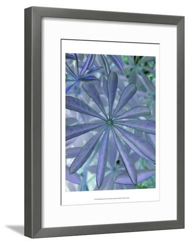 Woodland Plants in Blue I-Sharon Chandler-Framed Art Print
