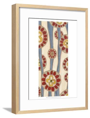 Flowing Flowers I-Karen Deans-Framed Art Print