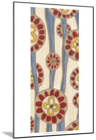 Flowing Flowers I-Karen Deans-Mounted Art Print