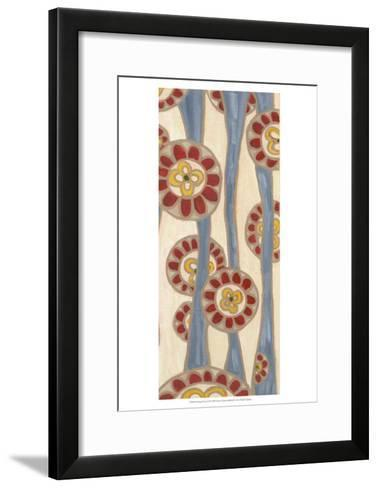 Flowing Flowers II-Karen Deans-Framed Art Print