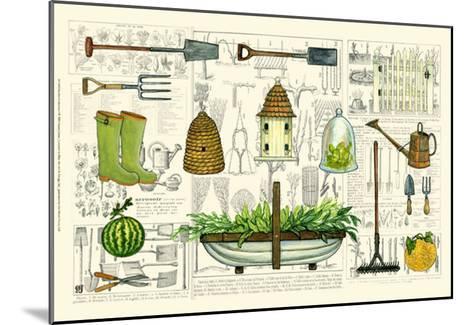 Garden Collection I-Ginny Joyner-Mounted Art Print