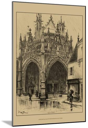 Ornate Facade I-Albert Robida-Mounted Art Print