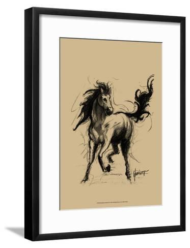 Midnight on Khaki--Framed Art Print