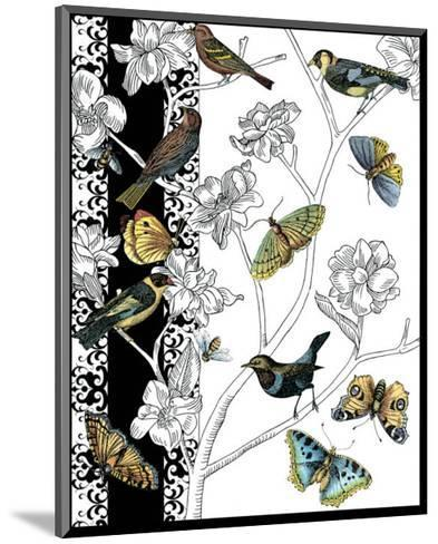 Aviary I-Chariklia Zarris-Mounted Art Print