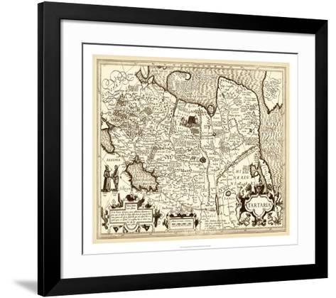 Antiquarian Map IV--Framed Art Print