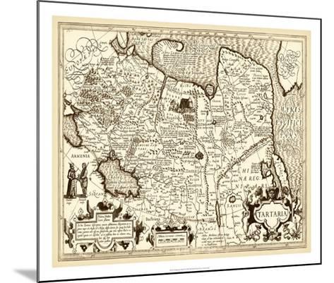 Antiquarian Map IV--Mounted Giclee Print