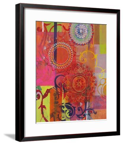 Textile Idea-Jeanne Wassenaar-Framed Art Print