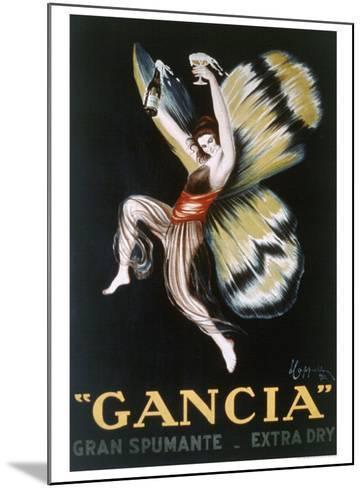 Gancia, Gran Spumenta-Leonetto Cappiello-Mounted Giclee Print