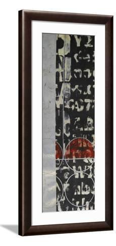 Typography II--Framed Art Print